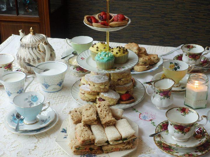 Afternoon tea table