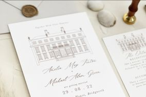 Harris and Bloom - Bespoke wedding stationery and floral design