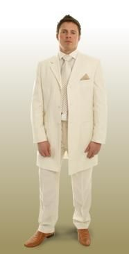 Cream Wedding Suits