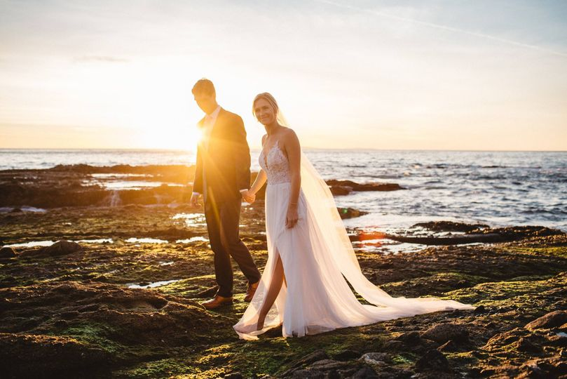 Couple by the water - James O'Halloran Studios