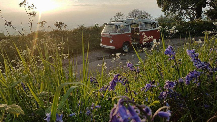 Sunset in Devon