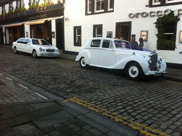 MK6 & Mercedes Limo