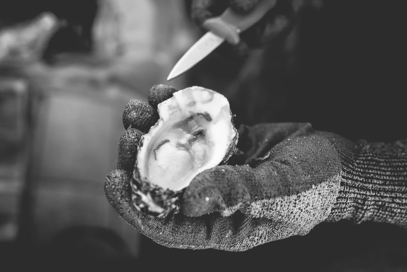 Shucked to order