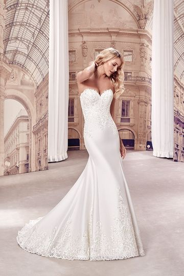 Eddy K Milano Wedding Gown MD268
