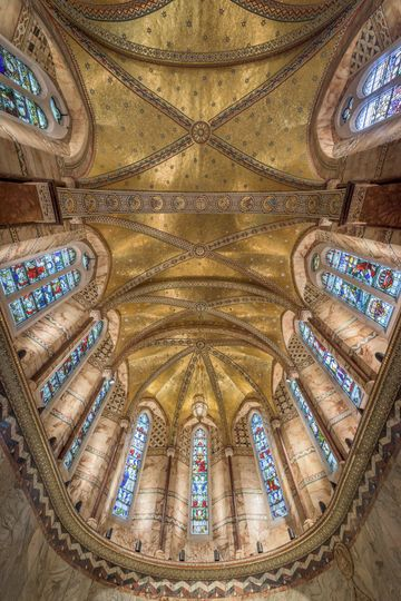 The Fitzrovia Chapel ceiling