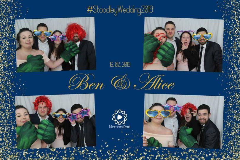 The wedding of Ben & Alice