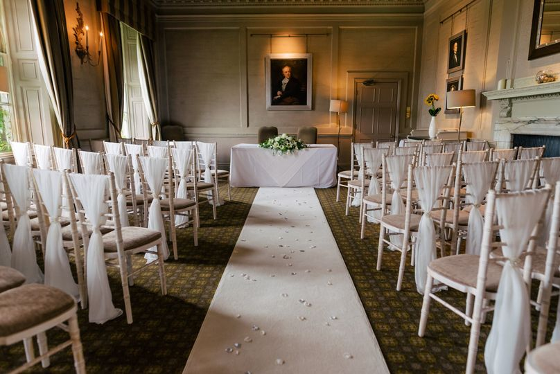 Ceremony in The Georgian room