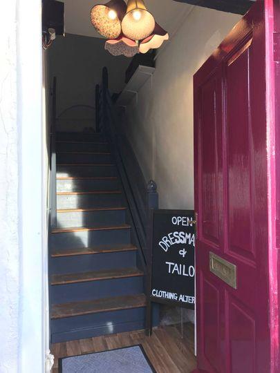 Our studio entrance