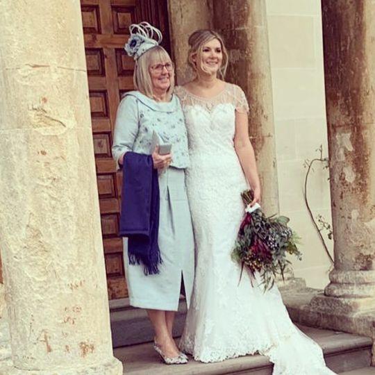 Mother of the bride dress make