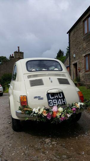 Fiat 500 Hire wedding