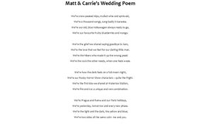 Poem Bespoke