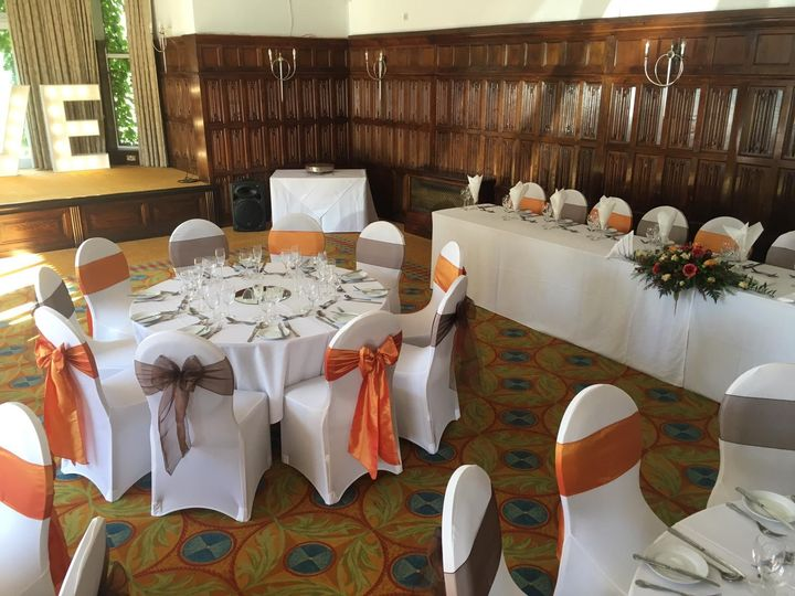 Autumnal chair covers