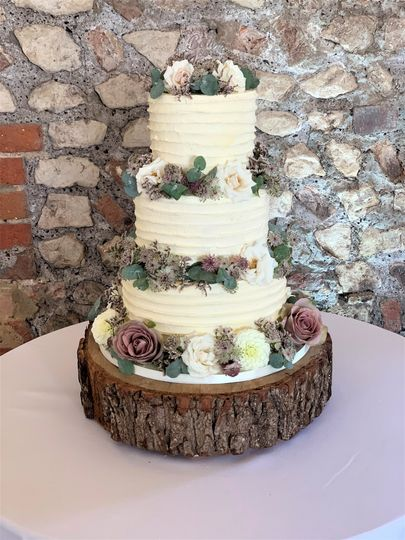 Buttercream with Fresh Flowers