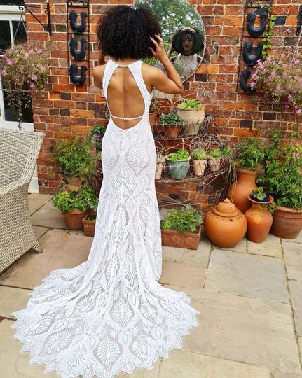 Wilderlybride wedding dress