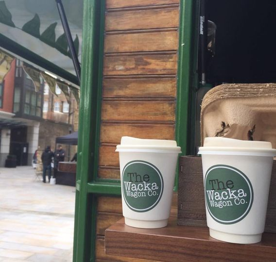 Our compostable coffee cups