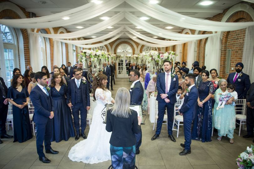 The Ceremony in the Orangery