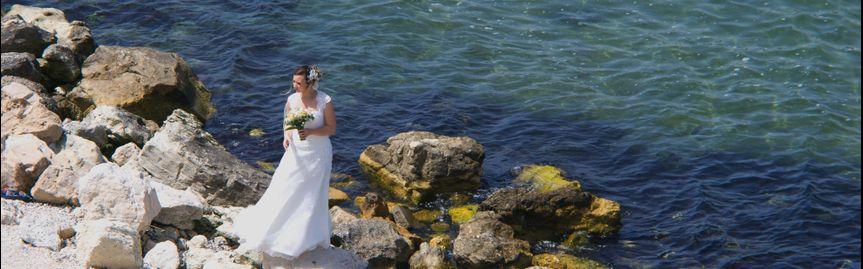 Wonderful wedding photo