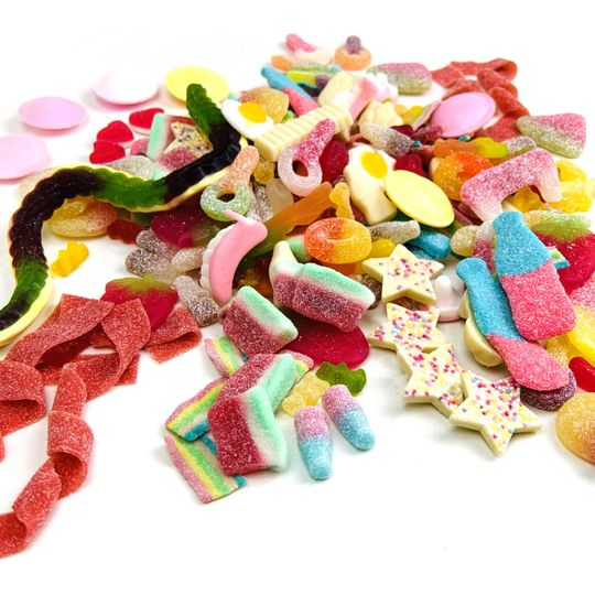A huge variety of sweets