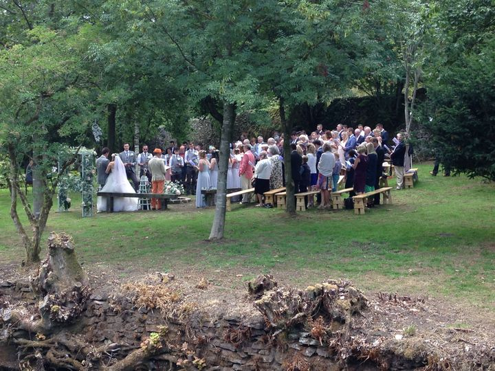 Outdoor Celebration in the Orchard