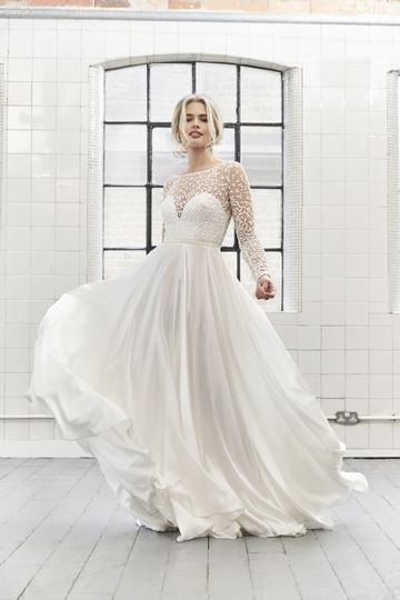 A beautiful gown
