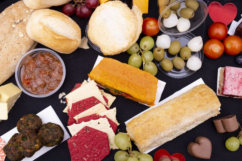 Cheese, breads, and olives