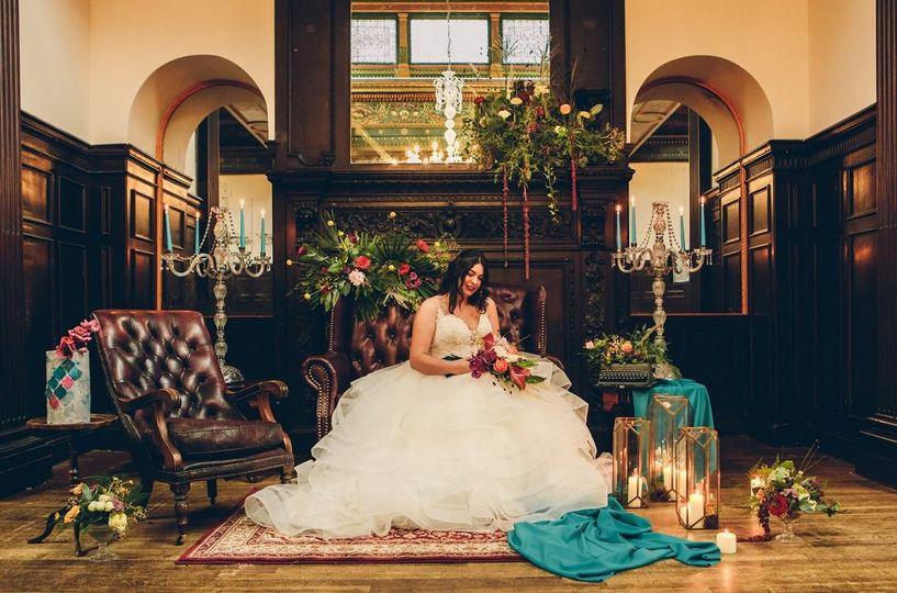 Wortley Hall featured shoot