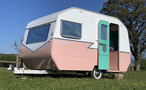 Our photo booth caravan