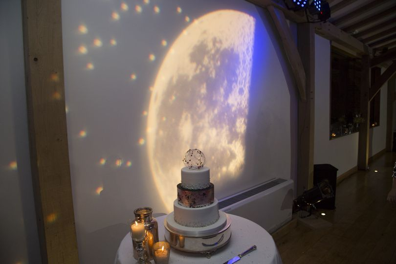 Space theme projection