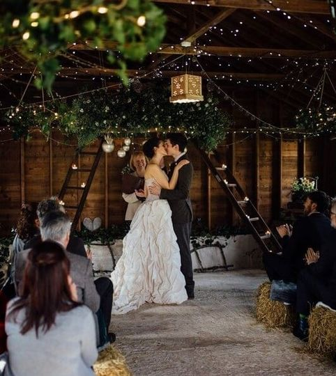 The Cow Shed, Winter Wedding