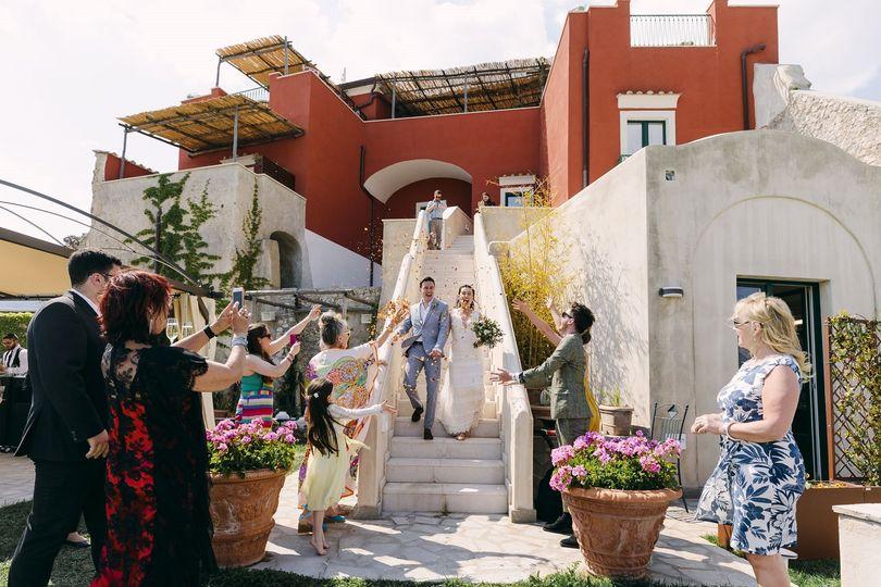 Suggestive Bride Arrival