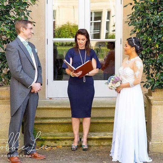 Wedding at Bath Spa Hotel