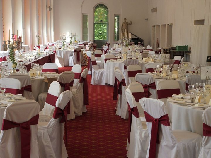 Chair covers and sashes margam