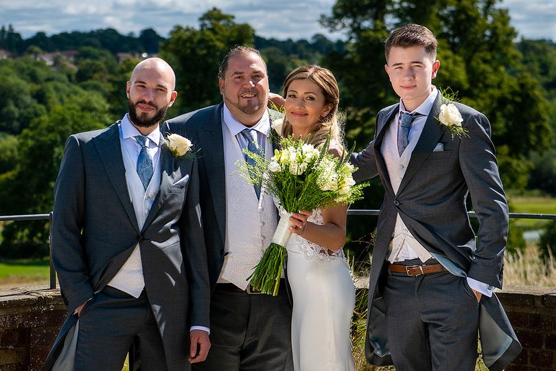 Wedding at The Grove, Herts