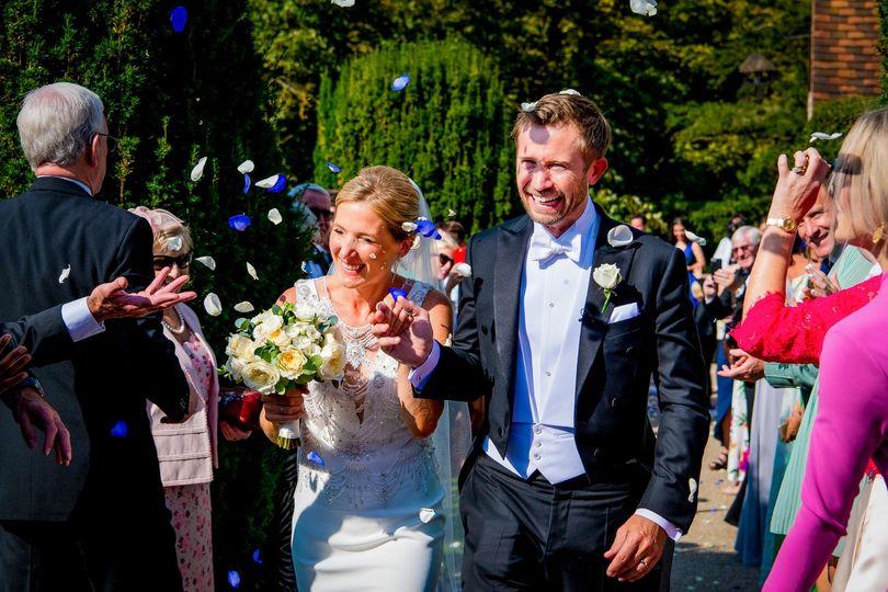 Wedding at Hedsor House