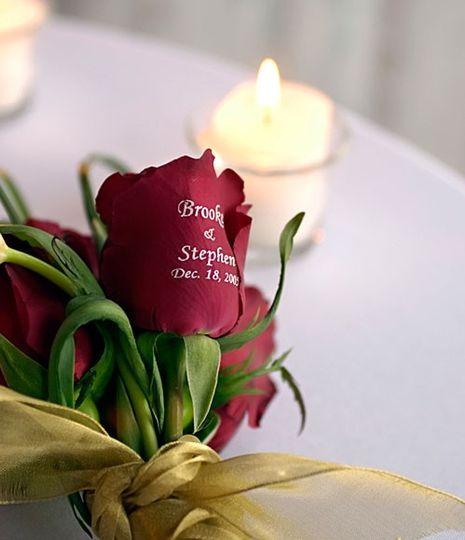 Embossed Roses