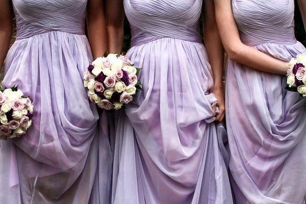 Rose Bridesmaids Dress