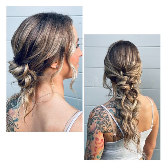 Knotted bun or mermaid?