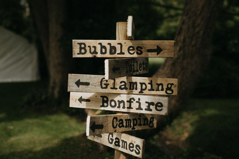 Bespoke signage