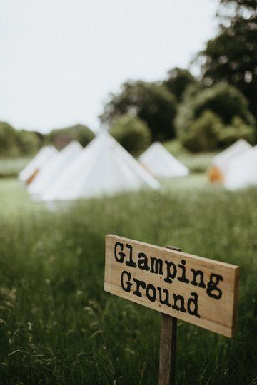 Glamping ground
