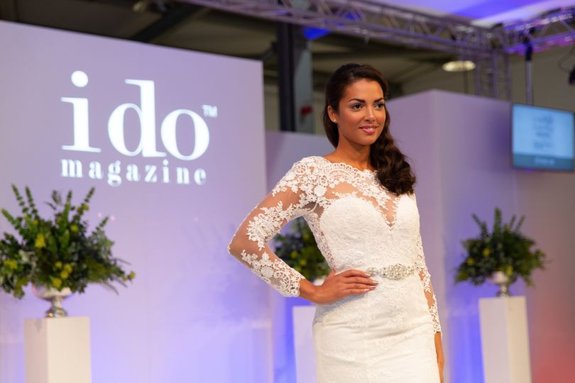 Wedding gown fashion show