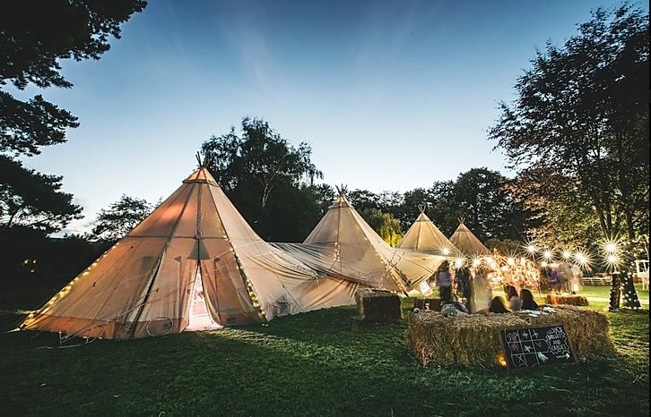 marquee hire teepee tent 20191120115600794