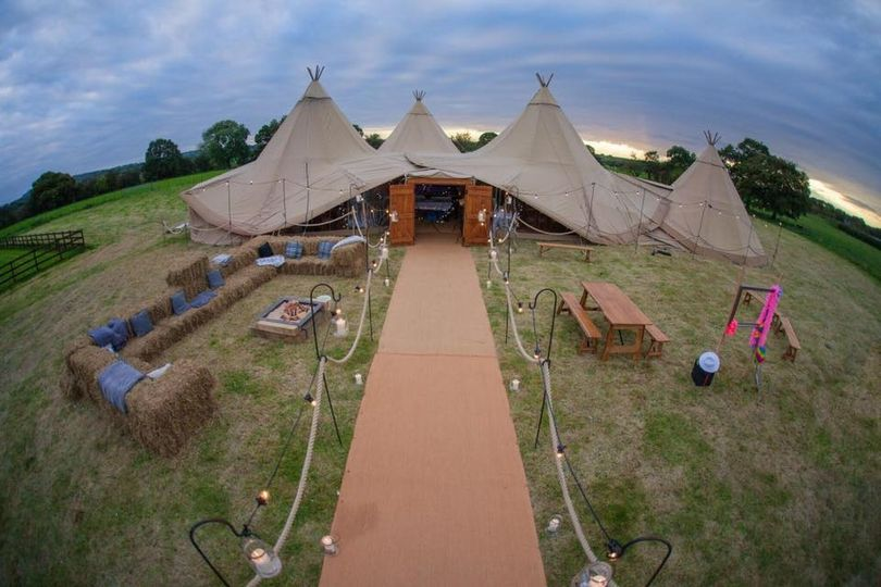 Marquee Hire Teepee Tent Hire 29