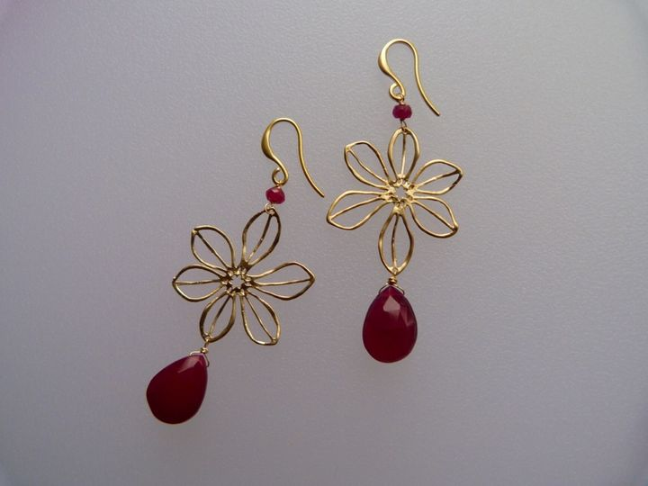 Ruby & red chalcedony