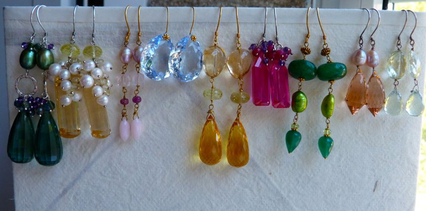 Earring selection