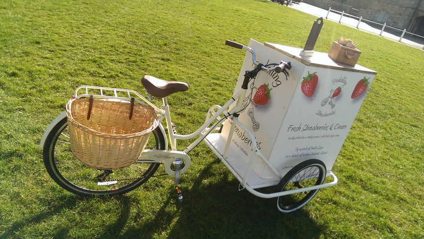 Catering Pedalling Strawberries 1