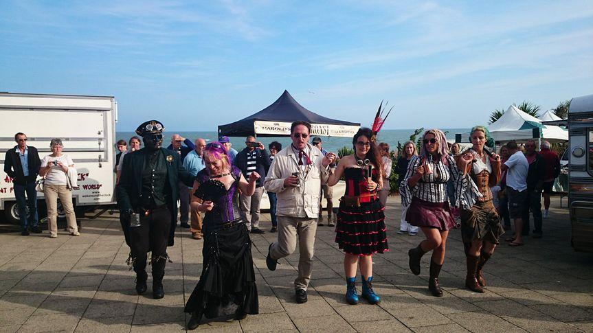 Steampunk festival Eastbourne