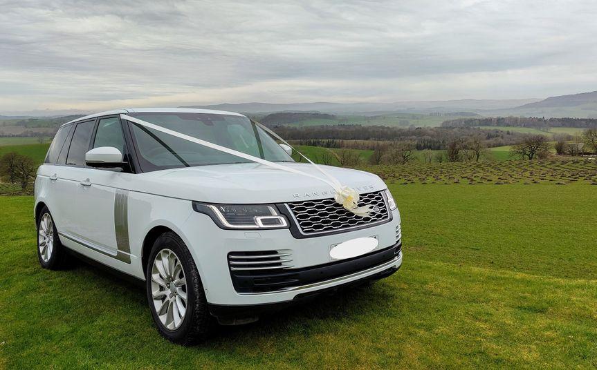 2020 Range Rover, seats 4