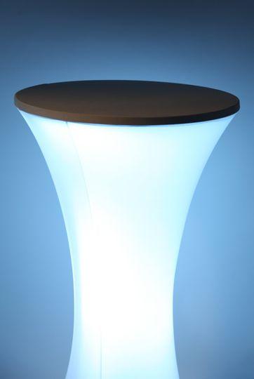 Uplight Poseur Table - Blue