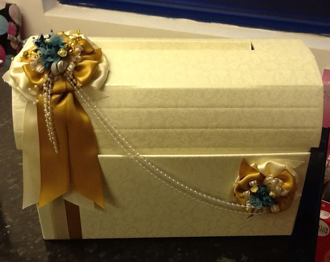 Wedding postal box