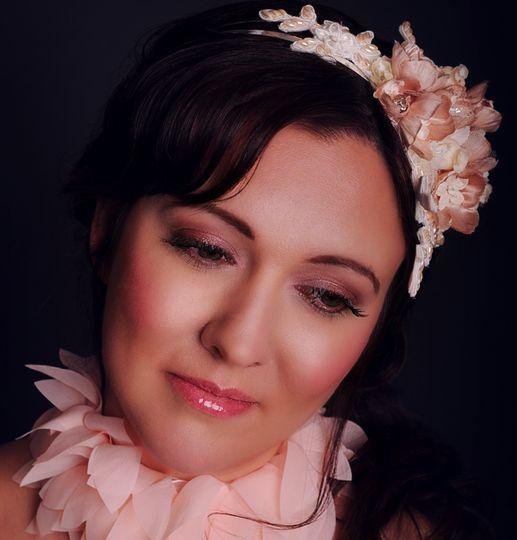 Glamorous vintage bridal